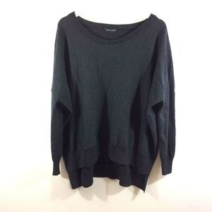 Eileen Fisher 100% Merino Wool Boatneck Sweater